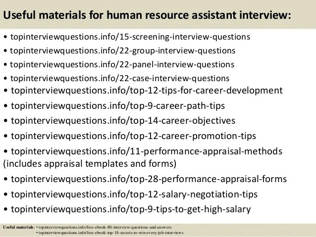 human resources assistant interview questions - Baskanidai - hr assistant interview questions