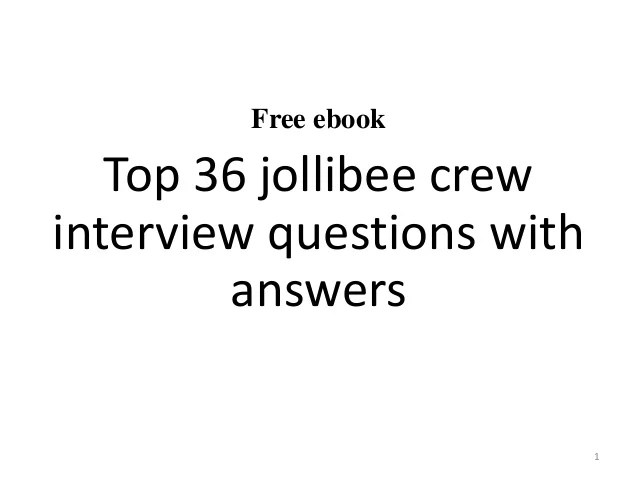 Sample Resume Jollibee Applicant Resume Ixiplay Free