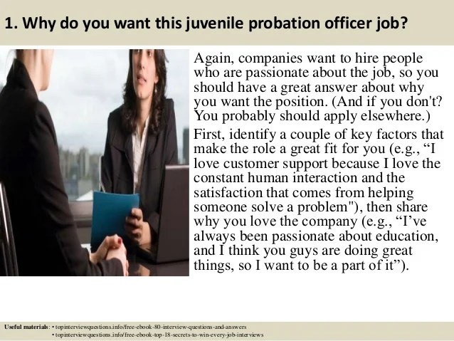 Your Career Starts Here Job Bank Top 10 Juvenile Probation Officer Interview Questions And