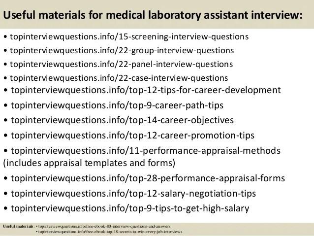 lab assistant interview questions - Vatozatozdevelopment