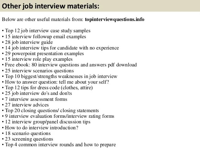 Case Study Interview Examples Questions And Answers Top 10 Network Systems Interview Questions With Answers