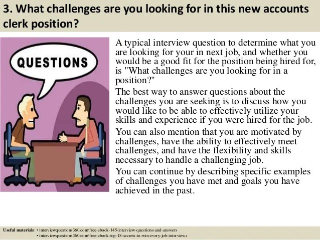 Accounting Assistant Interview Questions And Answers J