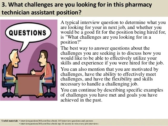 pharmacy technician job interview questions - Maggilocustdesign