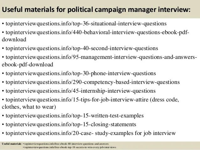 behavioral interview answers