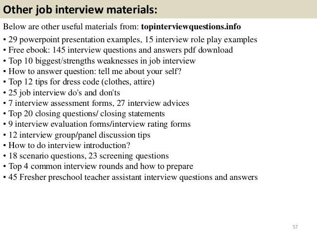 interview questions for a preschool teacher - Goalgoodwinmetals - interview questions for teachers