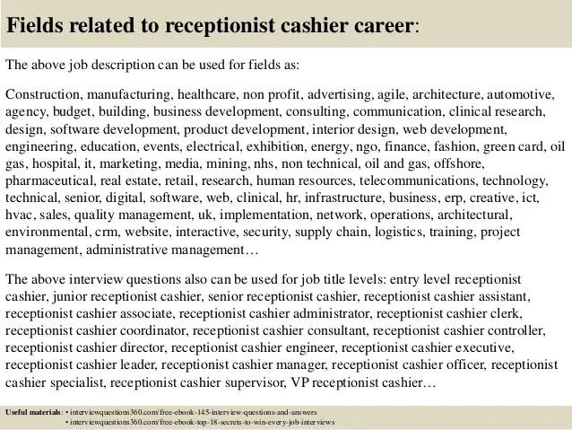 car dealership receptionist resume - Josemulinohouse
