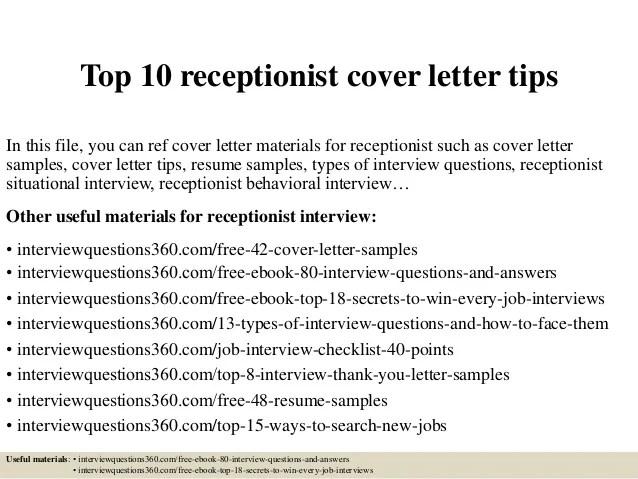 Finance Officer Resume Samples Jobhero Top 10 Receptionist Cover Letter Tips