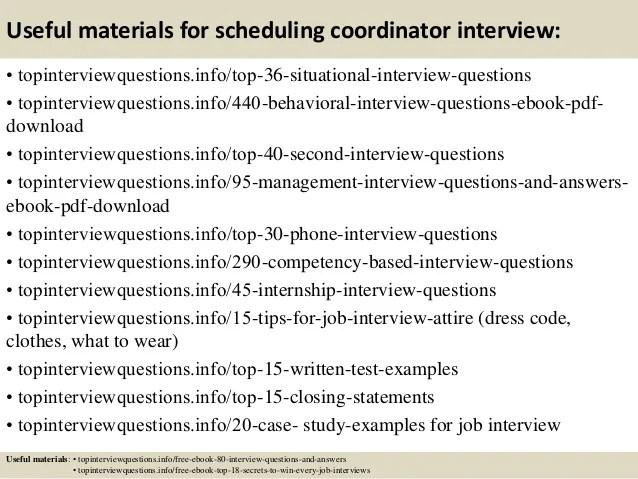 scheduling a job interview - Goalgoodwinmetals - scheduling coordinator job description