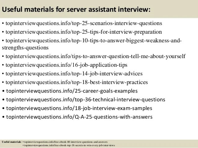typical server interview questions - Ozilalmanoof - server interview questions