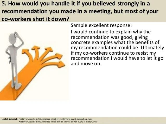 How To Answer Situational Interview Questions cvfreepro - situational interview answers