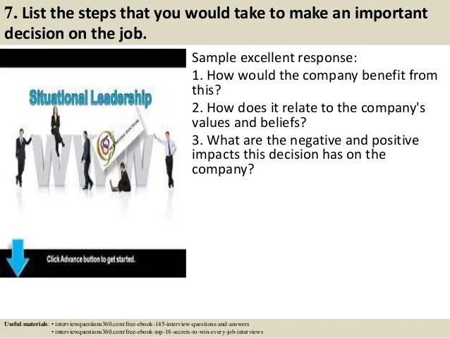 Situational Interview Answers kicksneakers - situational interview answers