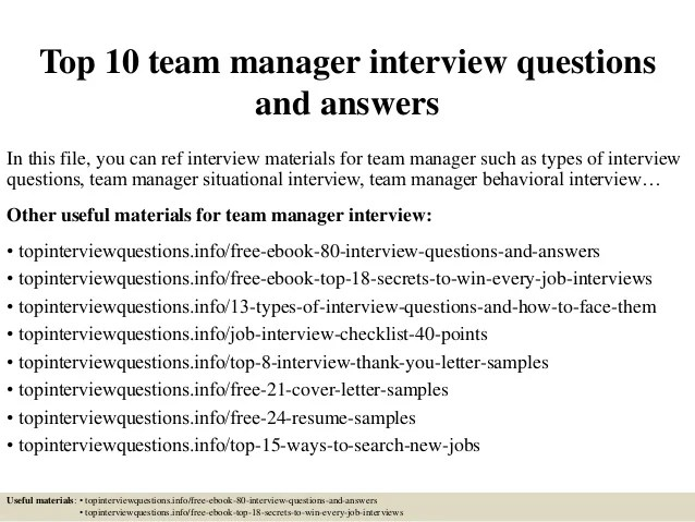 Interview-questions-on-spot - ghanaphotos - High Quality Resume - sales team leader interview questions