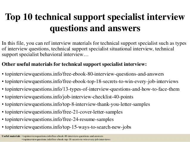 helpdesk interview questions