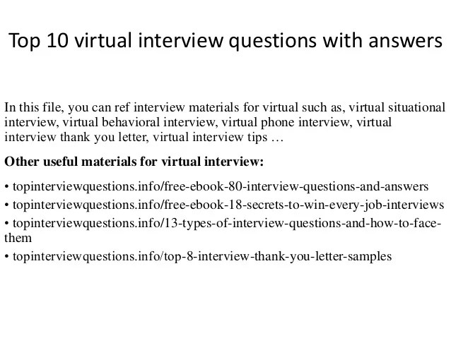 phone interview questions and answers examples - Alan - sample interview questions