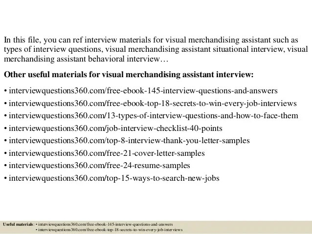 Merchandising Assistant Cover Letter 2013 Resume Tutorial Pro ...
