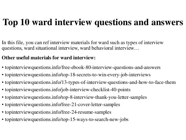 what questions to ask when interviewing - Selol-ink