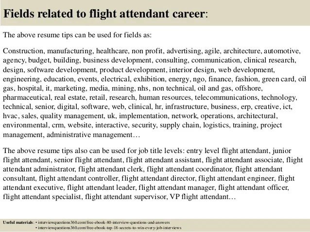 Letter Of Application How To Write And Examples Top 12 Flight Attendant Resume Tips