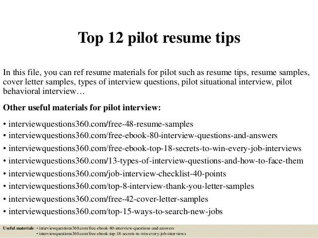 pilot resume - Romeolandinez - helicopter pilot resume