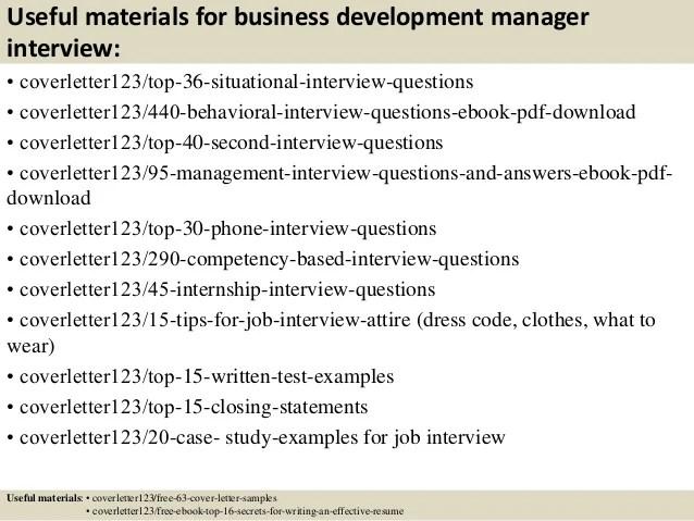 cover letter for business development position - Mavij-plus