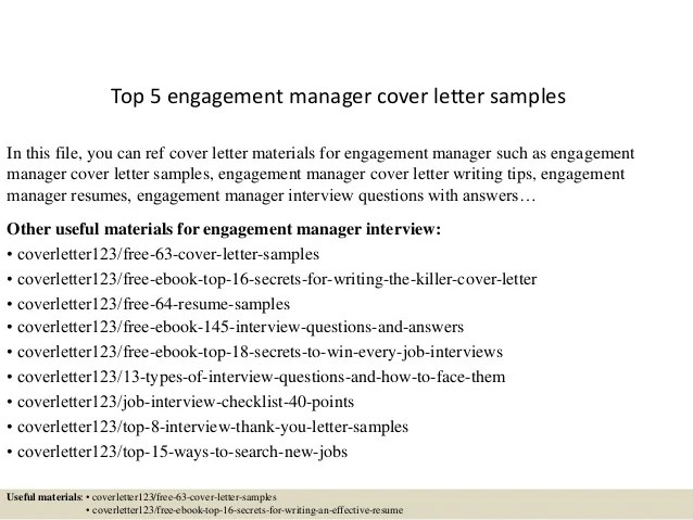 event coordinator cover letter samples