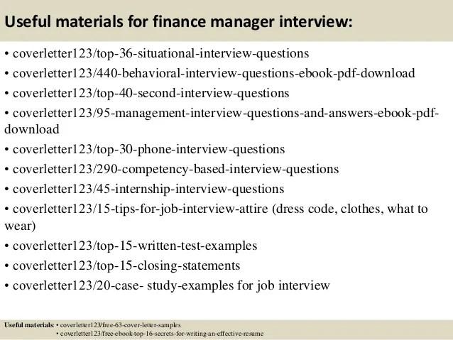 cover letter sample for finance manager - Onwebioinnovate - finance manager sample resume