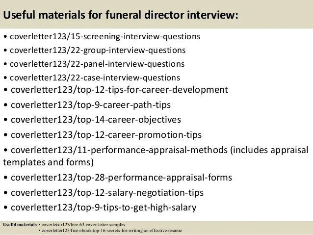 letter from funeral home - Towerssconstruction