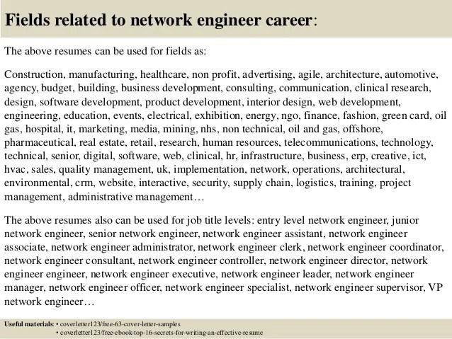 Noc Engineer Sample Resume - noc analyst sample resume
