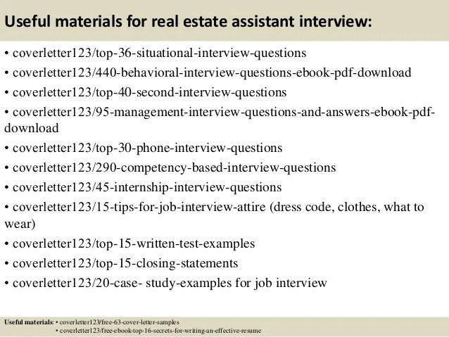 real estate assistant cover letter - Josemulinohouse - real estate cover letter samples