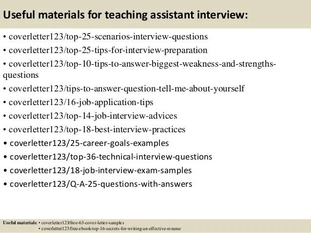 teacher assistant cover letter samples - Josemulinohouse - teaching assistant cover letter