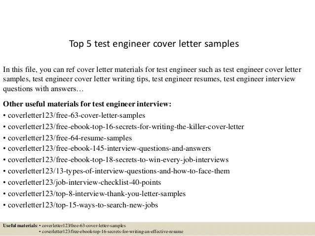 Antenna Test Engineer Sample Resume | mwb-online.co