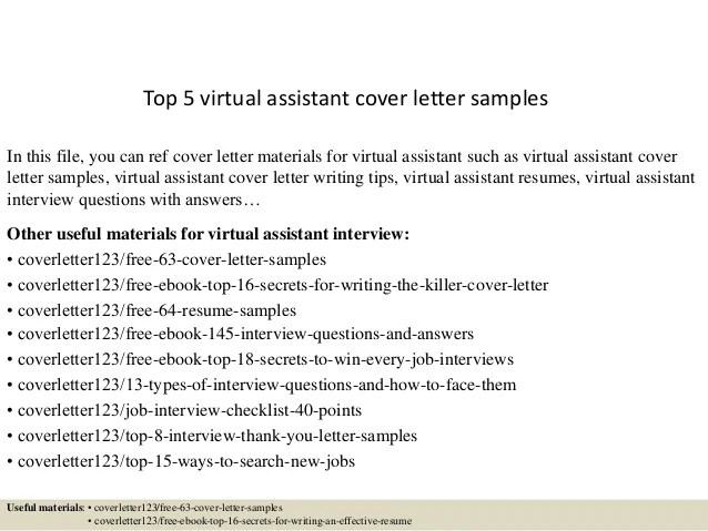 cover letter for virtual assistant with no experience - Minimfagency - Virtual Travel Agent Sample Resume