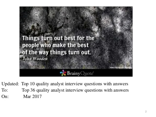 quality analyst questions interview quality analyst interview questions and answers for qa 15 quality analyst interview