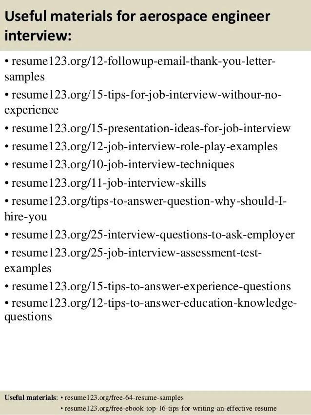 aerospace engineer resume practical aeronautical engineering resume