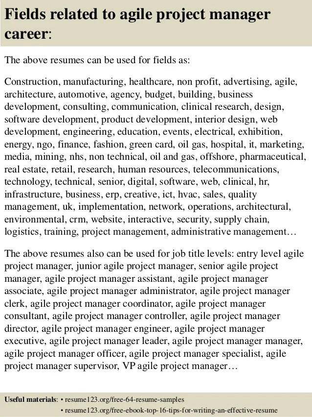 resume sample for project manager - Vatozatozdevelopment