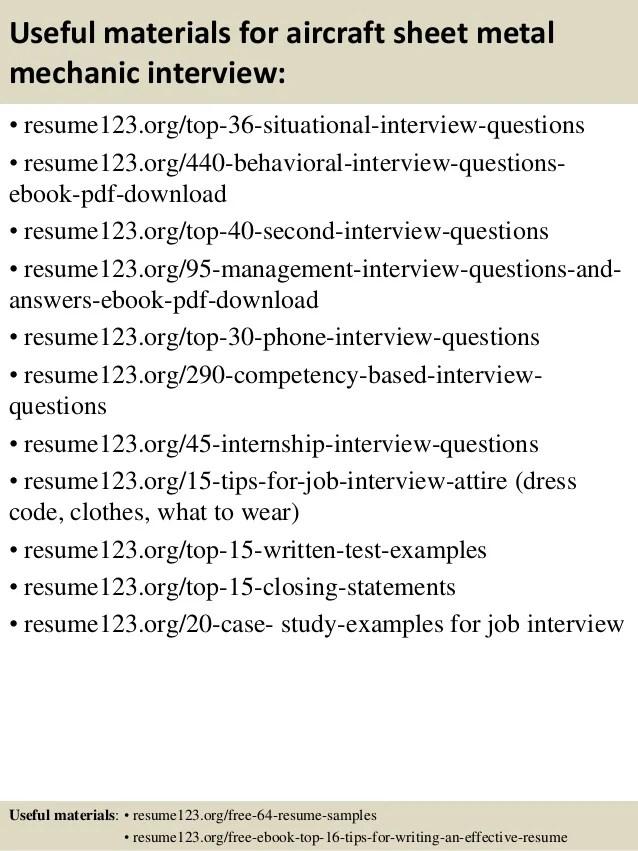 aircraft mechanic resume samples - Funfpandroid - a p mechanic sample resume