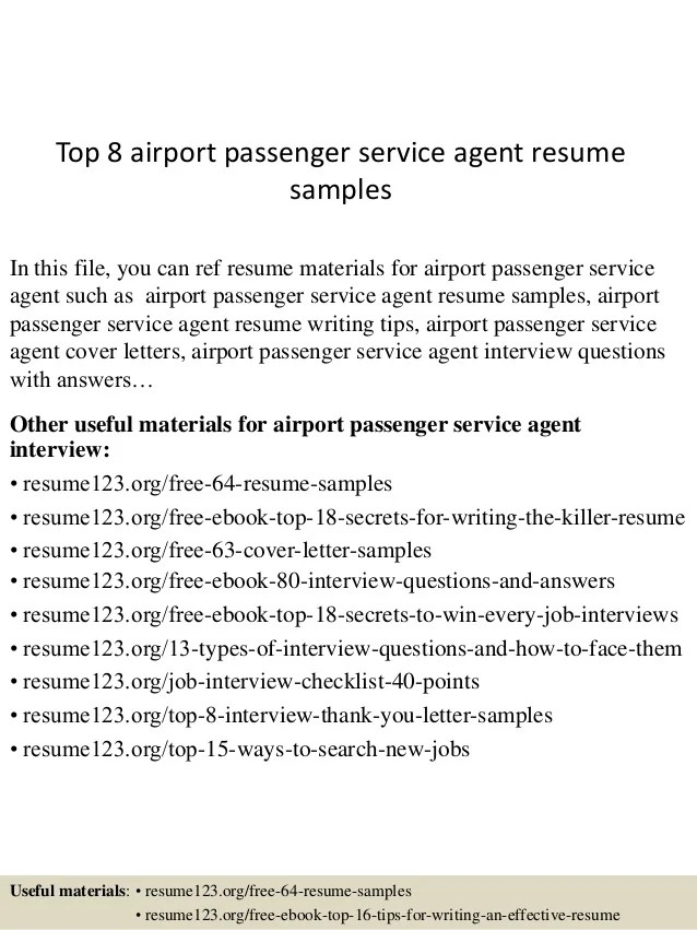 resume examples for airline customer service