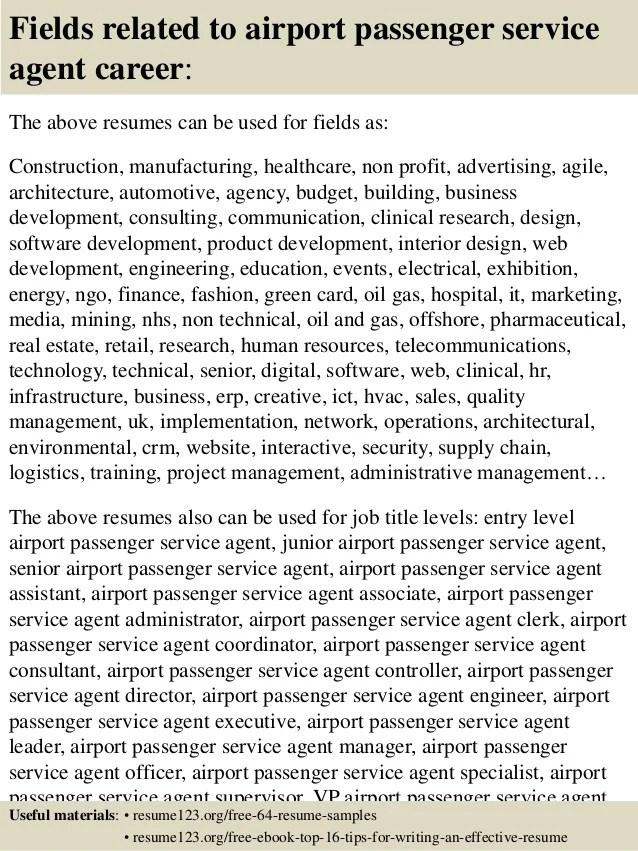 airline customer service agent resumes - Kubrakubkireklamowe