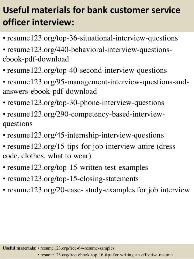 sample resume for customer service representative in bank - Romeo