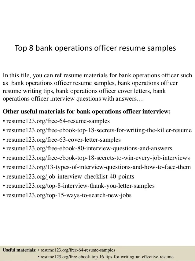 operations officer resume - Yelommyphonecompany - operating officer sample resume