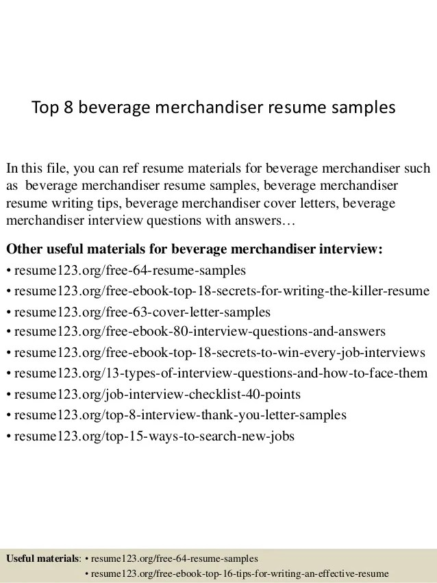 junior merchandiser resume - Konipolycode