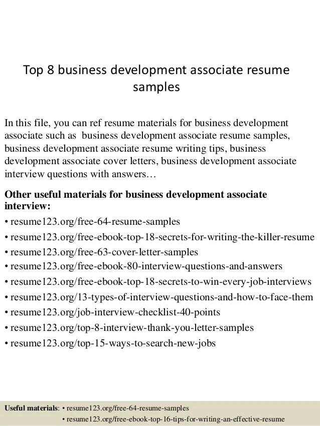 business development resume samples - Minimfagency - Business Resume