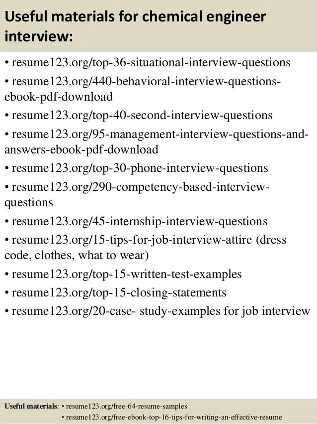 chemical engineering resume sample - Vatozatozdevelopment - it engineer sample resume
