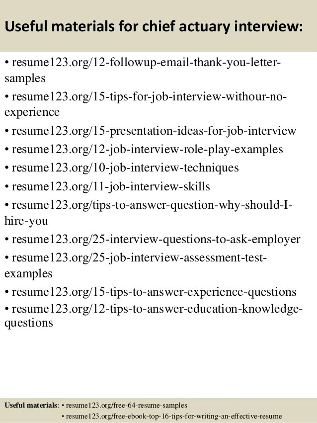 actuary resume samples - Selol-ink