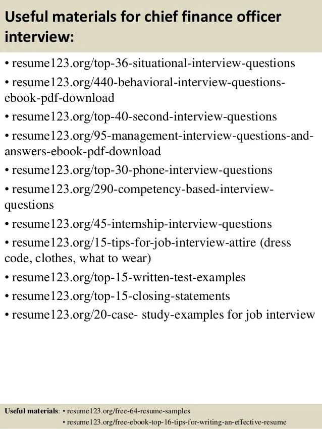 chief financial officer resume example - Onwebioinnovate - cfo resume sample