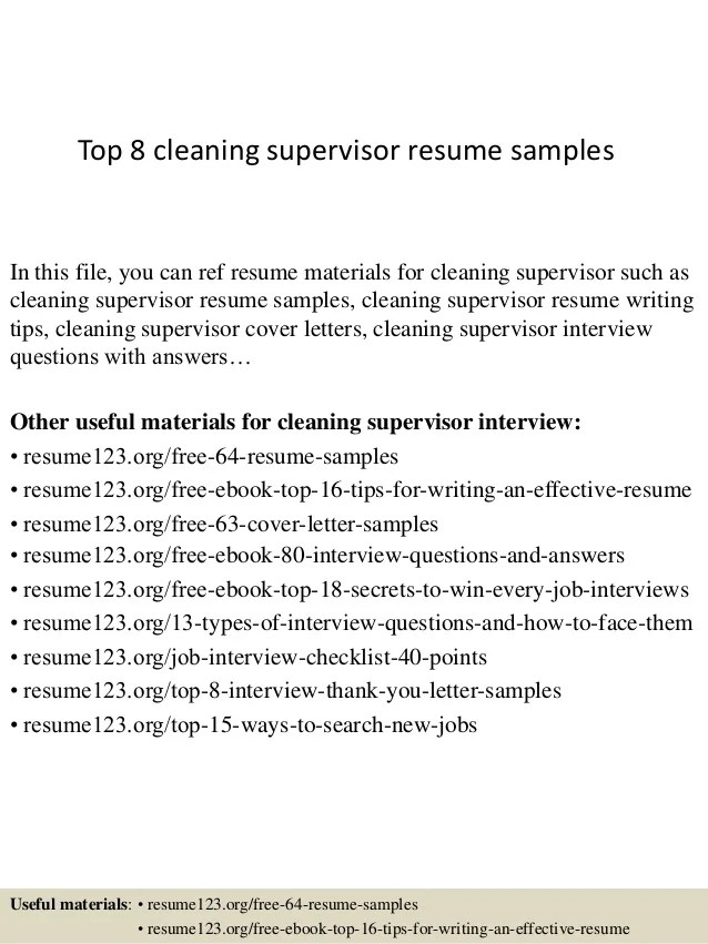 another word for cleaner on resume - Onwebioinnovate