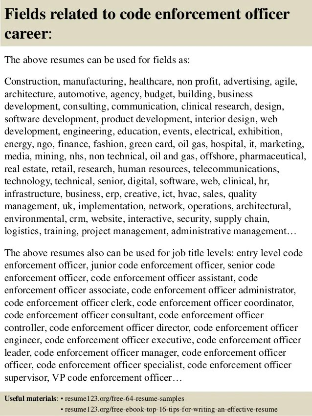 Sample Resume Objectives Human Resources Director Of Human Resources Resume Sample Top 8 Code Enforcement Officer Resume Samples