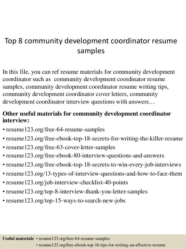 community manager resume sample