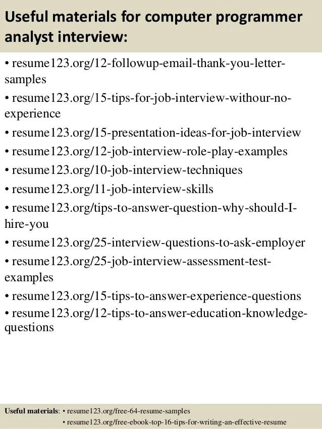 Programmer Analyst Sample Resume kicksneakers