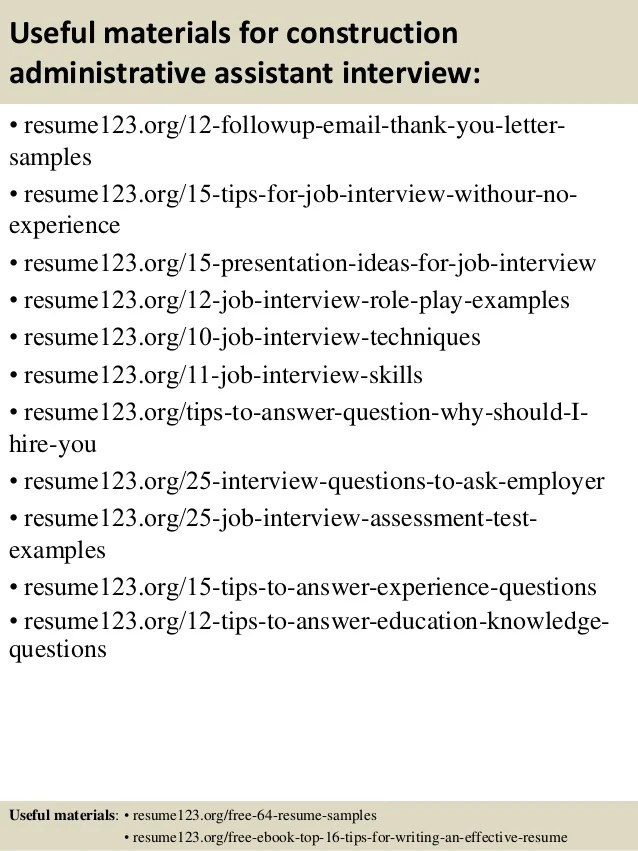 entry level administrative assistant resume sample - Josemulinohouse