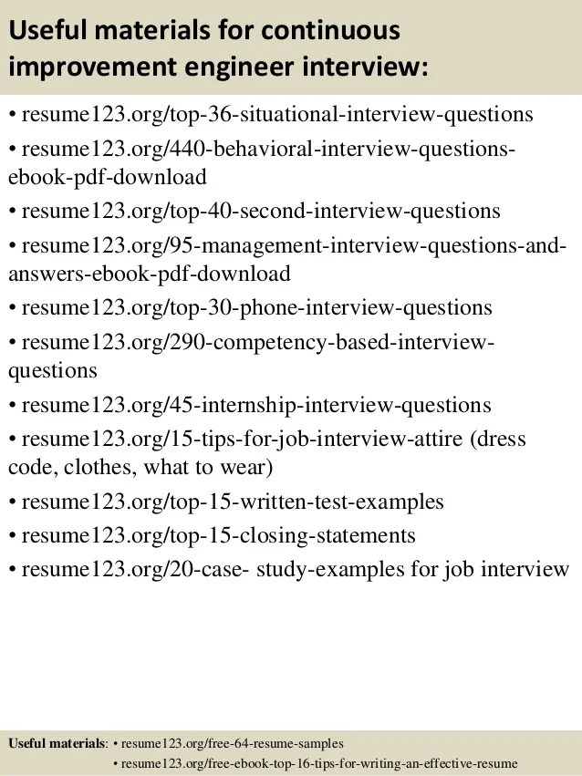 resume questions and answers free